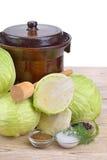 White cabbage Royalty Free Stock Photos