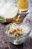 White cabbage salad Stock Photo