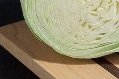 White cabbage texture ,selective focus,voluntary blur royalty free stock photography