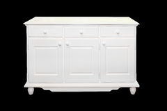 White cabinet Stock Photography