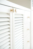 White cabinet Stock Photo