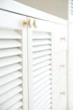 White cabinet Stock Photo