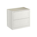 White cabinet for use in bathrooms and kitchens Stock Photography