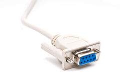 White cable Stock Photography
