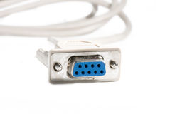 White cable Royalty Free Stock Photos