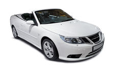 White Cabriolet Royalty Free Stock Photography