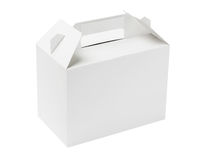 White Cake Box Royalty Free Stock Image