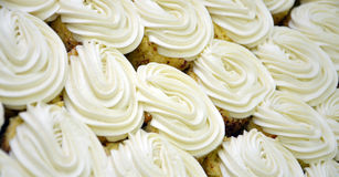 White cakes, background Royalty Free Stock Photography