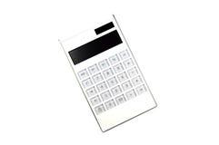 White Calculator Royalty Free Stock Photos