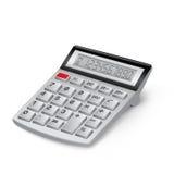 White calculator Royalty Free Stock Image