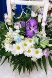 White camomiles, wedding decoration Royalty Free Stock Images