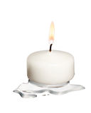 White candle Stock Photos