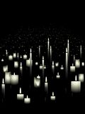 White candle background Royalty Free Stock Photo