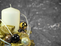 White candle Royalty Free Stock Photos