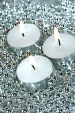 White candles Royalty Free Stock Photos