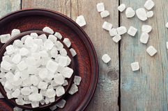 White candy sugar Stock Photos