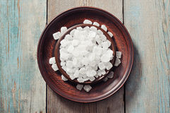 White candy sugar Stock Images