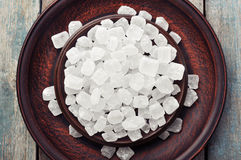 White candy sugar Royalty Free Stock Photo