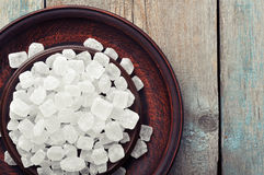 White candy sugar Royalty Free Stock Image