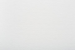 White canvas background, texture for painter Royalty Free Stock Photo