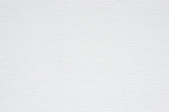 White canvas close up Royalty Free Stock Photos