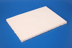 White canvas Royalty Free Stock Image