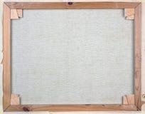 White canvas stock image