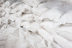 White canvas sack Royalty Free Stock Photo