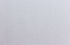 White canvas texture background Stock Images