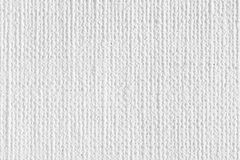 White canvas texture. Light bright white canvas texture on macro. High resolution photo Royalty Free Stock Photography