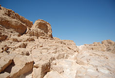 White canyon in Egypt Stock Photo