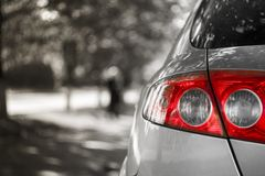 Free White Car Stock Photography - 48069452