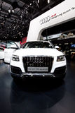 White car Audi Q5 Royalty Free Stock Images
