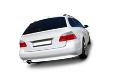 White car BMW 5 Series Stock Photos
