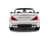 White car cabriolet Stock Photography