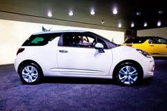 White car Citroen DS3 Stock Image
