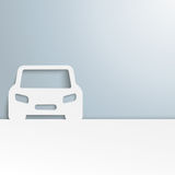 White Car Cover Stock Images