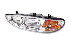 White car headlight Royalty Free Stock Images