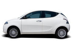 White Car Royalty Free Stock Photography
