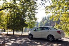 White car Royalty Free Stock Images