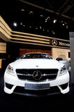 White car Mersedes CL 63 Stock Image