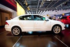 White car Opel Astra Royalty Free Stock Photos