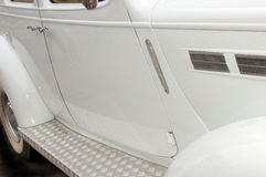 White Car Side Doors Stock Photos