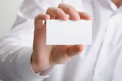 White card Stock Images