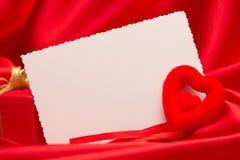 White card for congratulation Stock Photos