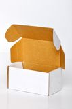White cardboard box Royalty Free Stock Photography