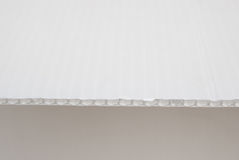 White cardboard Stock Photography