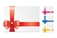 White cards Stock Images