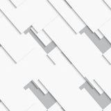 White cards diagonal seamless Stock Photography