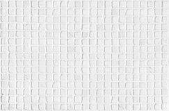 White Carrara Marble mosaic tiles natural light surface texture Royalty Free Stock Photo